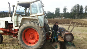 Case 550 Tractor and Implements
