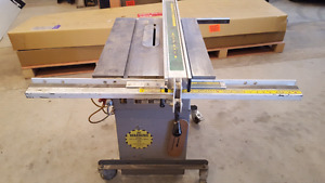 """Busy Bee 10 """" tablesaw with 2 hp motor"""