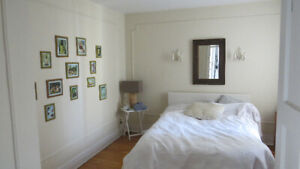 $1800 for 7 1/2  heated, 1200 sq. ft. upper duplex, from May 1