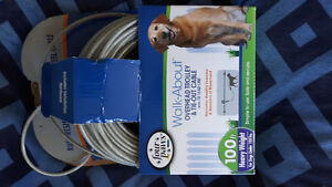 100 foot dog lead system BRAND NEW