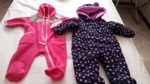 Baby girl Brand new snow suit
