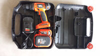 Black & Decker 14.4 v Drill Like New with the case