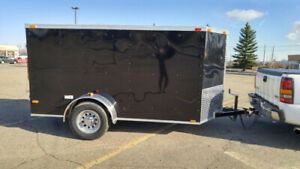 5 x 10' New V Nose Cargo Trailer