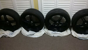 MSR Twin Spoke Wheels w/Pirelli Run Flats Cambridge Kitchener Area image 2