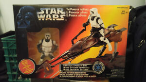 Imperial Speeder Bike Toy Star Wars Action Figure