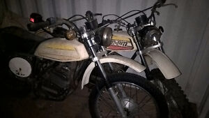 Two 1975 Can Am TNT 175 motorcycles