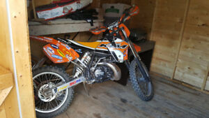 1999 ktm 250 sx need a piston!