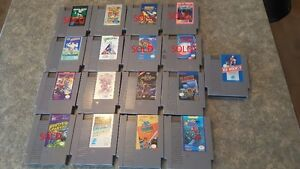 11 NES games to sell (100$ for bundle)