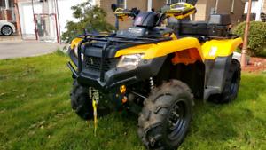 2015 Honda rubicon fourtrax ATV
