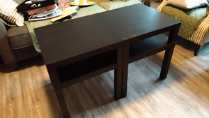2 Hacked IKEA LACK side tables