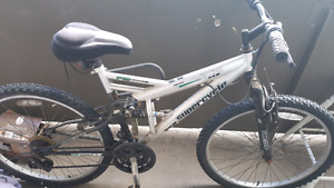 Barley used supercycle full suspension mountain bike