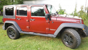 2007 Wrangler Rubicon Unlimited