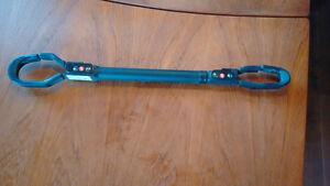 Bike Adaptor Bar for Carrier Rack (Extendable)