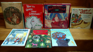 1957 edition of How the Grinch Stole Christmas & 5 other books