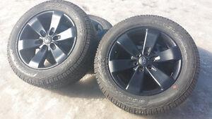 Rare 2014 Ford F150 FX4 black wheels rims tires and sensors!