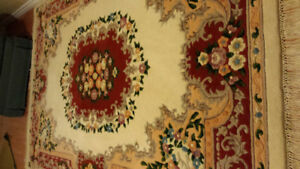 Persian Rug, size  9x12, measures 3 inches thick