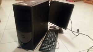 Dell tower, desktop computer