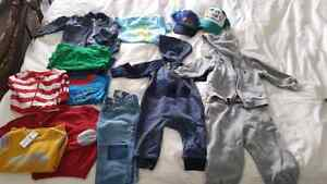 toddler boys lot sizes 6 to 12 months