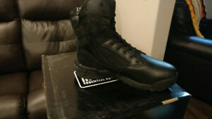 MAGNUM SLEALTH FORCE 8.0 SIDE ZIP TACTICAL BOOTS NEW $100 OBO