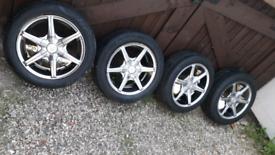 Wolfrace alloy wheels 135