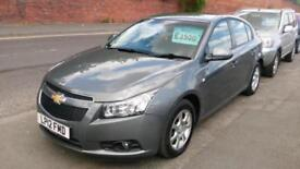 CHEVROLET CRUZE 2.0 V CDi LT 76000 MILES FSH MET GREY 6 SPEED AIR CON 2012