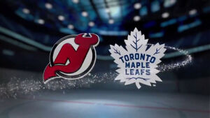 Toronto Maple Leafs vs New Jersey Devils HHOF Game