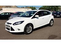2014 Ford Focus 1.6 125 Titanium Navigator Pow Automatic Petrol Hatchback
