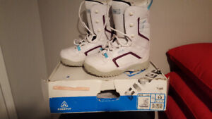 FIREFLY SNOWBOARD BOOTS LADIES SIZE 10 XLT COND $50PICKUP ONLY