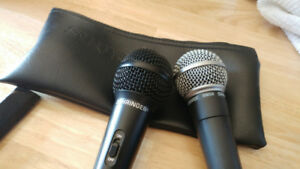 Microphones for sale behringer and SM58