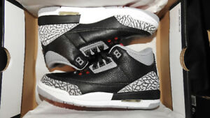 Jordan 3 Retro Black Cement Size 5