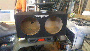 12 inch sub box 2 cubic ft