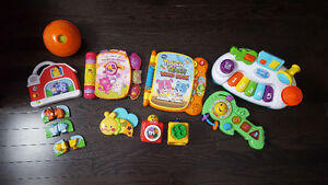 Lot of 9 baby toys