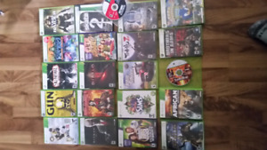Xbox 360 games lots left!
