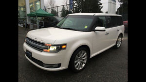 2015 Ford Flex Limited AWD with Moonroof, Nav & Adaptive Cruise