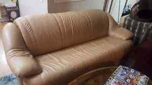 Leather Couch Set!
