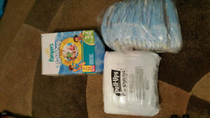 Huggies and Pampers Pull-ups (Size 3t-4t)