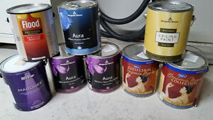 Benjamin Moore (and other) paint 15$ /gallon