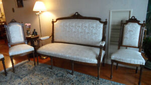 French Louis XVI style Antique Furniture Set