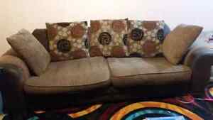 Couch with swivel chair FREE