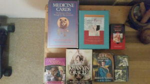 Tarot and Oracle decks for sale