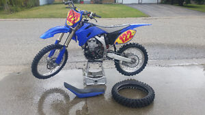 2008 YZ450F almost new