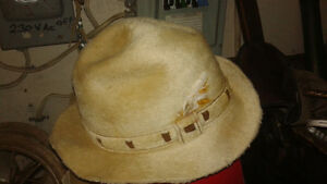 vintage biltmore beaver fur hat in box