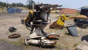 Feller Buncher Excavator Attachment Yatala Gold Coast North Preview