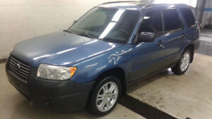 Subaru Forester 2007 Édition Columbia