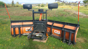 9' ARCTIC VEE PLOW. EXCELLENT CONDITION.
