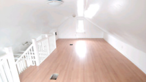 Bright and spacious top floor of home for rent
