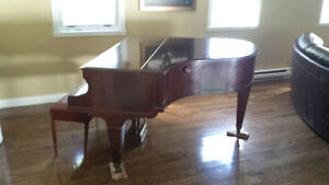 century old Hagspiel Baby Grand