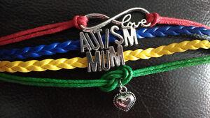Autisme autism bracelet femme