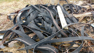 Rubber horse fencing