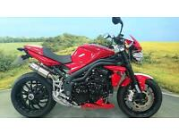 Triumph Speed Triple 1050** Two Tone Paint, Brembo Calipers, Race Exhausts